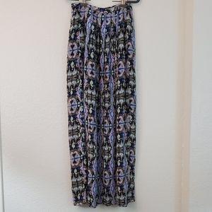 Tibi silk maxi skirt sz 0